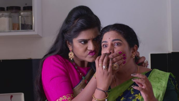 Priyamvada and Hamsa in Akka Chellellu