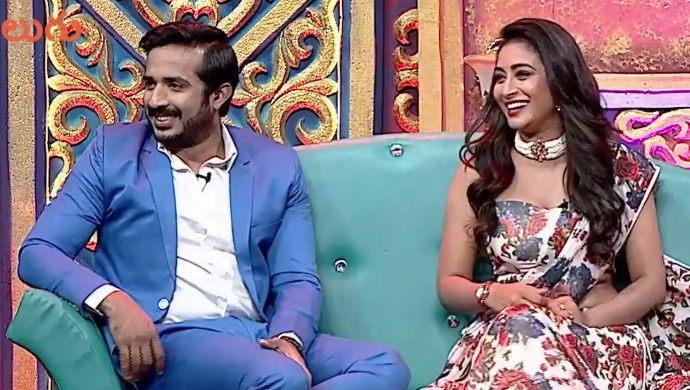 Ravi and Bhanu in Adhirindi Episode 11