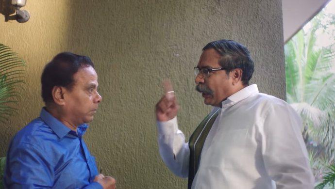 Anji and Kasi Vishwanath in Amrutham Dhvitheeyam