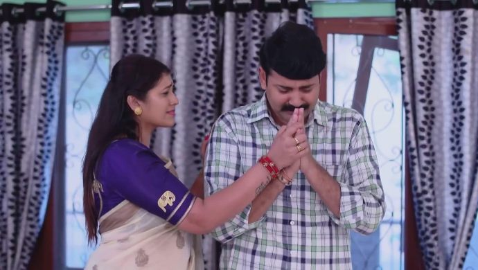 Arjun and Brahmini in Ninne Pelladatha