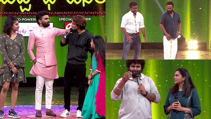 Celebs in Babu Gari Intlo Butta Bhojanam