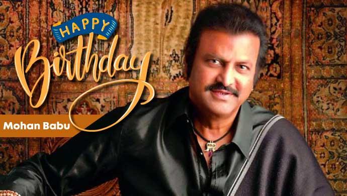 Mohan Babu Birthday