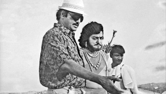 Mohan Babu and NTR