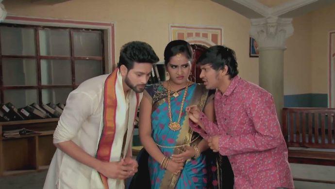 Rana with Sam and Chaitu in Kalyana Vaibhogam