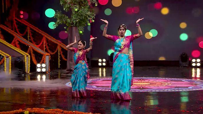 Shasti and Jiya in Babu Gari Intlo Butta Bhojanam