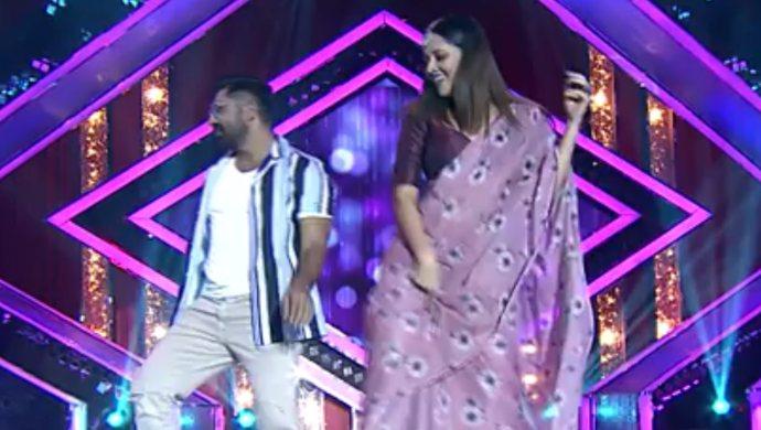 Shekar Master and Anasuya Bharadwaj in Local Gangs Episode 16