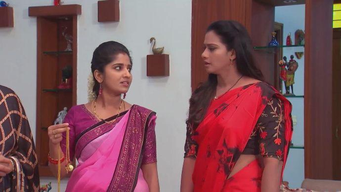 Swaroopa and Manga in Kalyana Vaibhogam