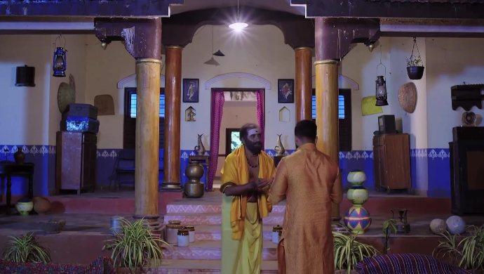 Vishal and Shashtri in Trinayani