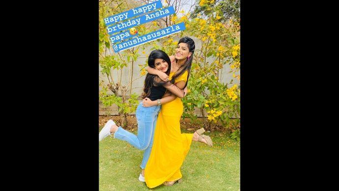 Hrithi Ch and Anusha Sasurla