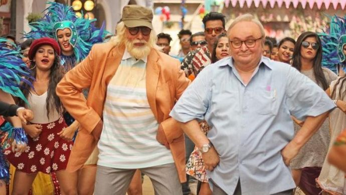 Rishi Kapoor and Amitabh Bachchan
