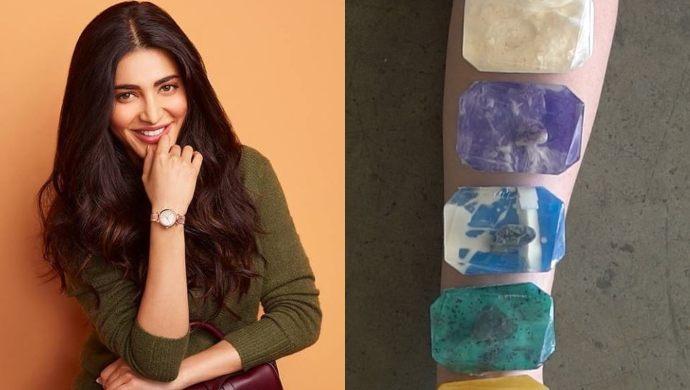 Shruti Haasan makes Homemade soaps