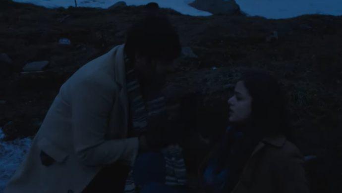A Still from Raahu Trailer