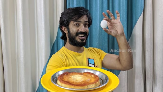 Anchor Ravi - Egg Pudding recipe
