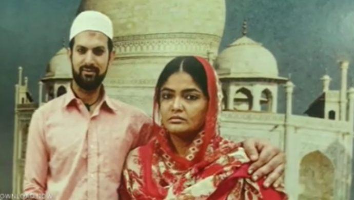 Kalpika Ganesh as Ruby Shabana and Shivam Malhiottra in Loser