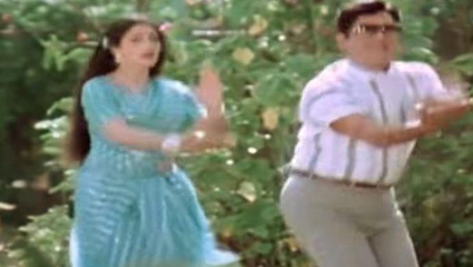 Sridevi and ANR in Sree Ranga Neetulu