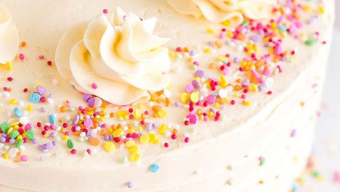 Vanilla Cake - mothers day
