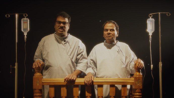 Amrutham and Anji in Amrutham Dhvitheeyam