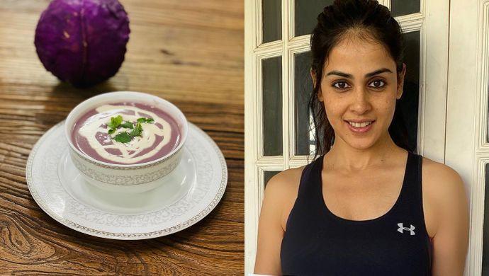 Organic Cabbage Soup By Genelia Deshmukh