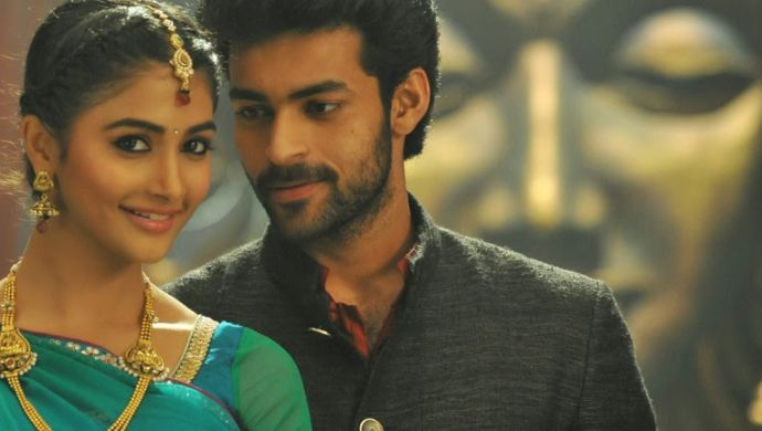 Pooja Hegde and Varun Tej in Mukunda