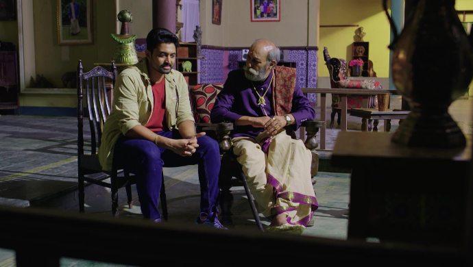 Rahul and Peddayyaiah in No 1 Kodalu