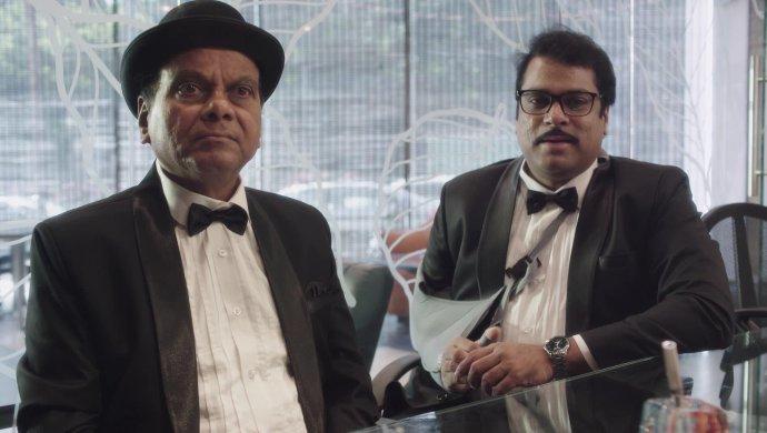 Anji and Amrutham in Amrutham Dhvitheeyam Episode 1