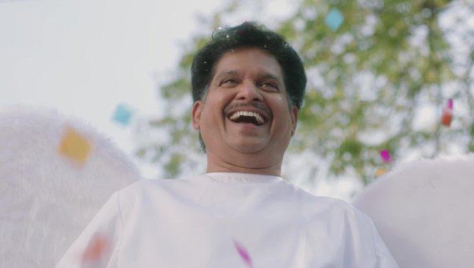 Appaji in Amrutham Dhvitheeyam Episode 2