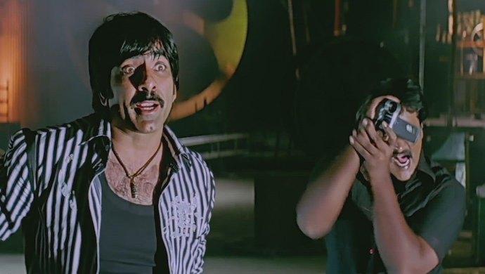 Ravi Teja and Sunil in Baladur