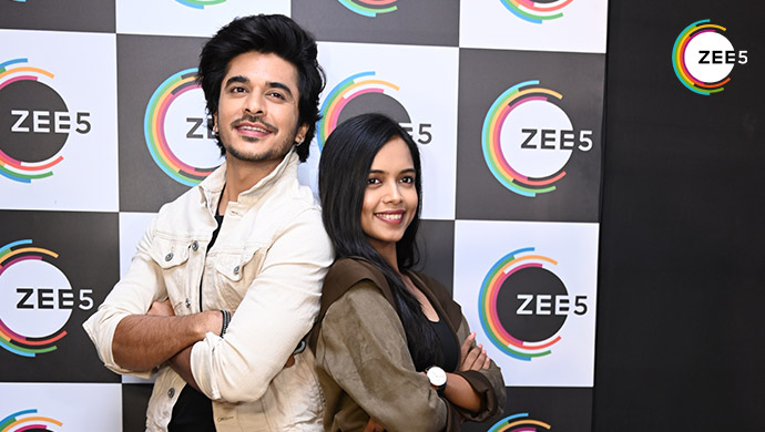 Star cast of Dil Yeh ZIddi Hai at the ZEE5 Celebrations