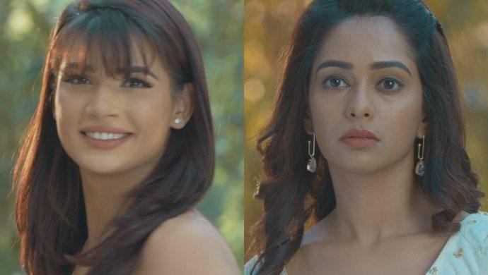 Rhea and Prachi in white dress