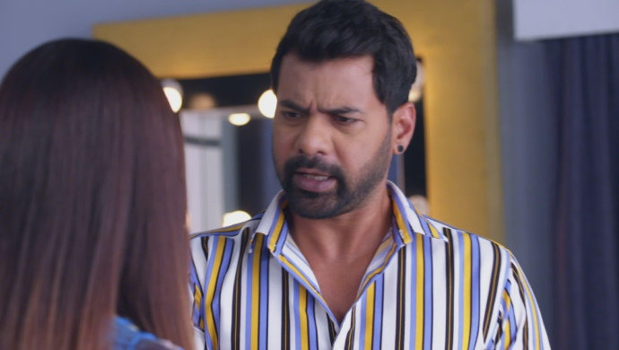 Still from Kumkum Bhagya with Abhi and Aliya