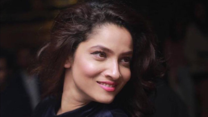 ankita lokhande caught in a candid pose