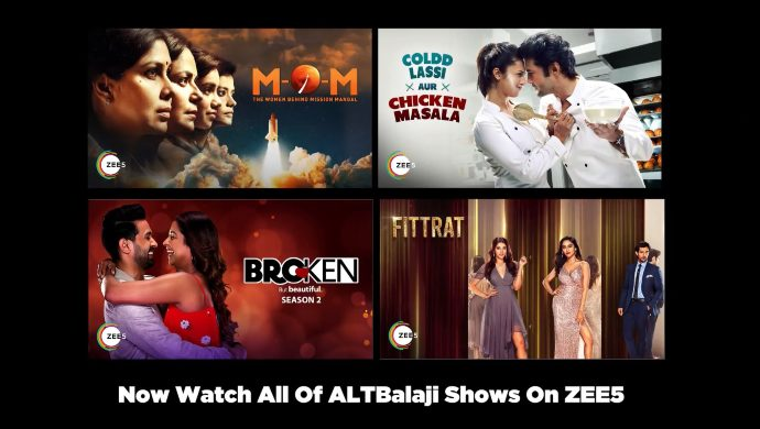 ALTBalaji shows on ZEE5