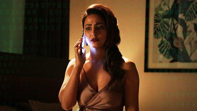Hina Khan in Hacked