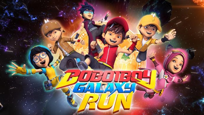 Boboiboy Galaxy Run on ZEE5