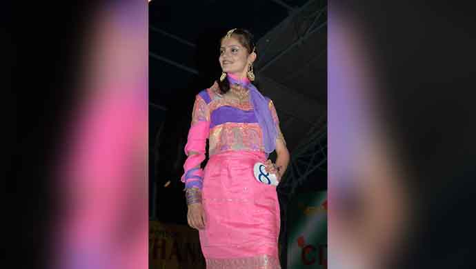 Rubina Dilaik won Miss Shimla in 2006