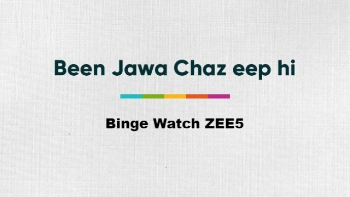 Guess the Gibberish Challenge on ZEE5 shows