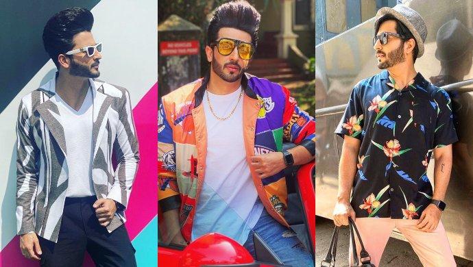 Dheeraj Dhoop Fashion sense