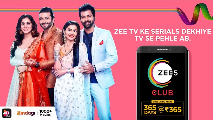 ZEE5 Club Pack for Zee TV shows