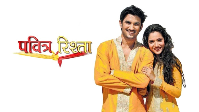 Ankita Lokhande and Sushant Singh Rajput in Pavitra Rishta
