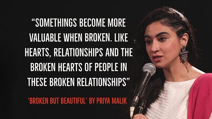 Broken but Beautiful Poem by Priya Malik