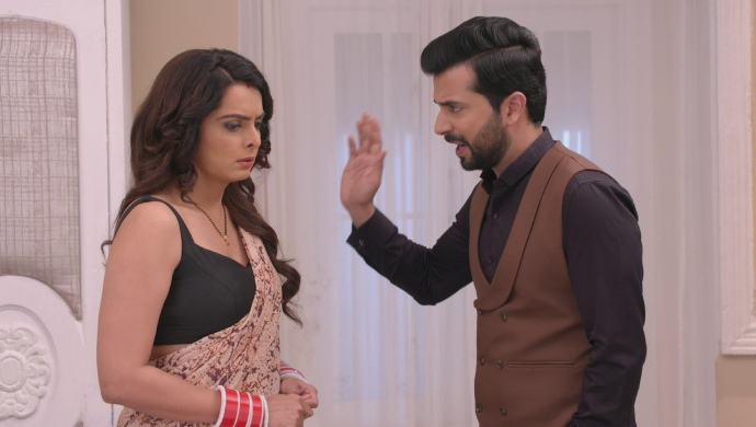 Still from Kundali Bhagya with Rishabh and Sherlyn