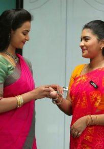Aishwarya and Parvathy