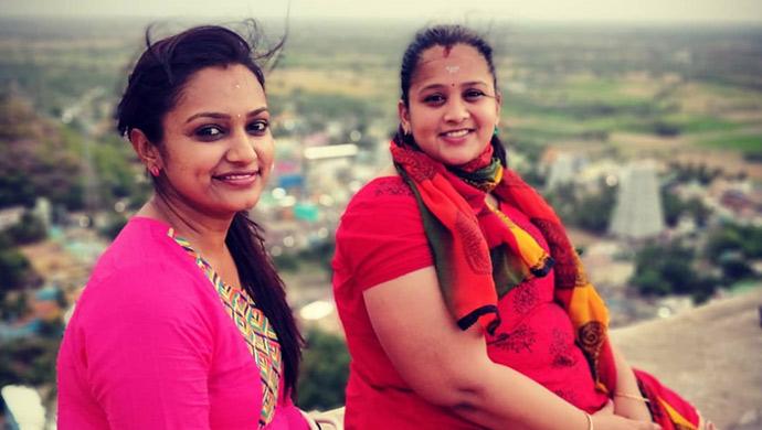 Ashiwni and Royal Swathi at Mahabalipuram