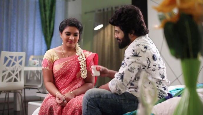 Parvathy and Adithya's romance