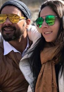 Shabbir Ahluwalia and Kanchi Kaul's Personal Moments