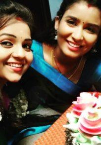 Krithikaa and Reshma