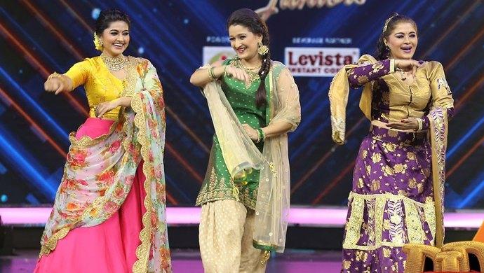 Sneha, Laila and Sudha Chandran