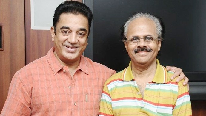 Crazy Mohan with Kamal Haasan