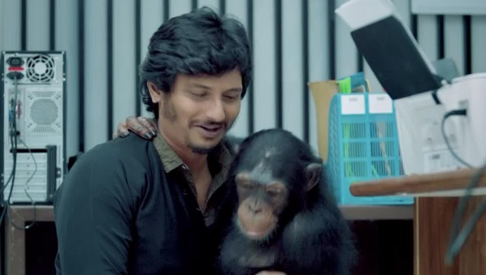 Birthday boy Jiiva in Gorilla