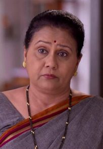 Aamhi Doghi actress Varsha Dandale in a scene from the show.